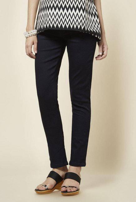 Zudio Blue Slim Fit Denim Jeans