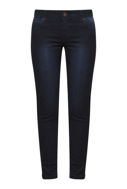 Zudio Navy Lucia Denim Jeans