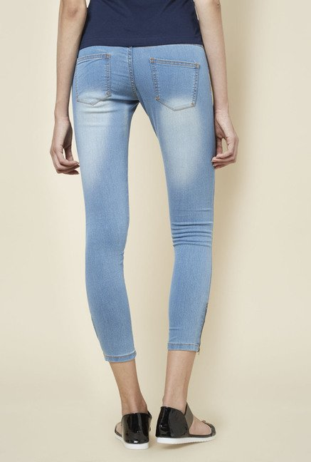 Zudio Light Blue Lucia Denim Jeans