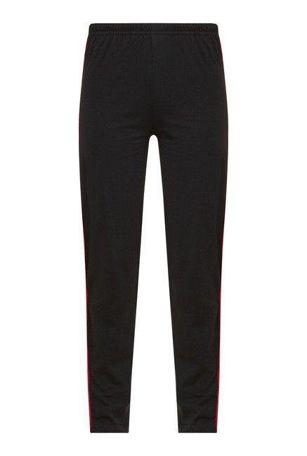 Zudio Black Solid Trackpant