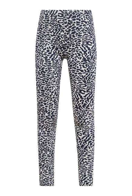 Zudio Navy Zebra Print Leggings