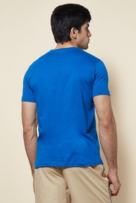 Zudio Indigo Solid T Shirt