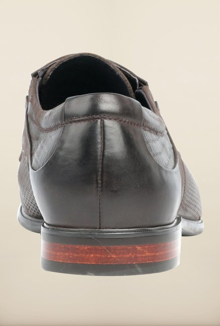Pavers England Brown Oxford Shoes