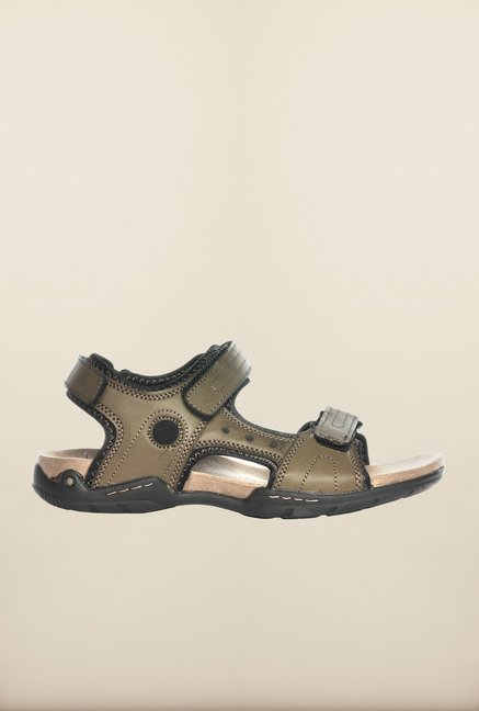Pavers England Olive Floater Sandals