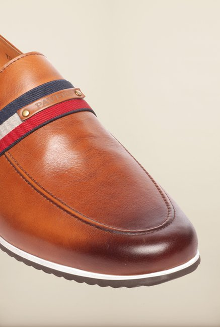 Pavers England Tan Loafers