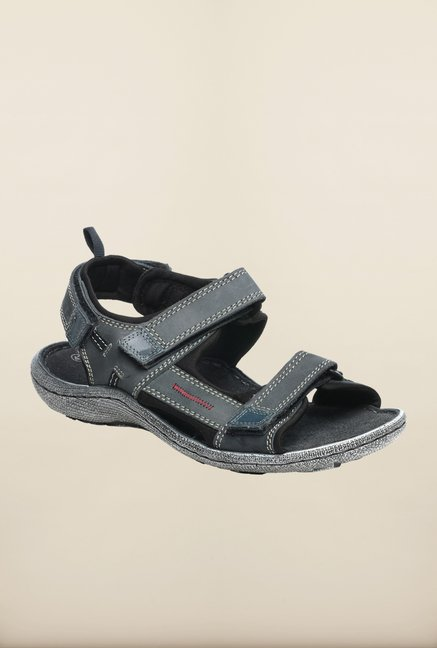 Pavers England Navy Floater Sandals