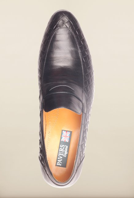 Pavers England Navy Formal Slip-Ons