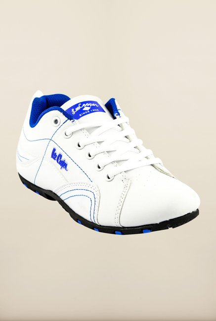 Lee Cooper White Casual Shoes