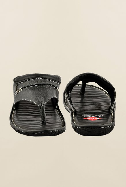 Lee Cooper Black Ethnic Slippers