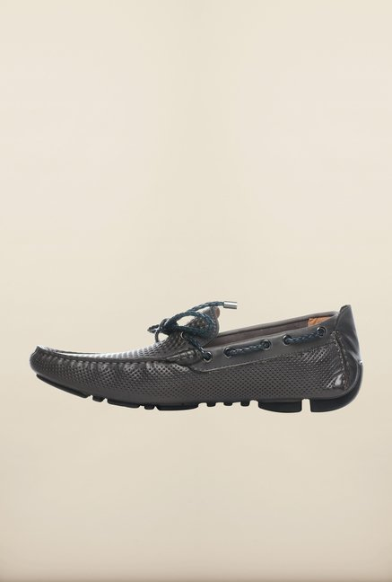 Pavers England Dark Grey Moccasins