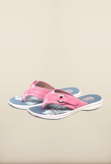 Pavers England Pink Slippers