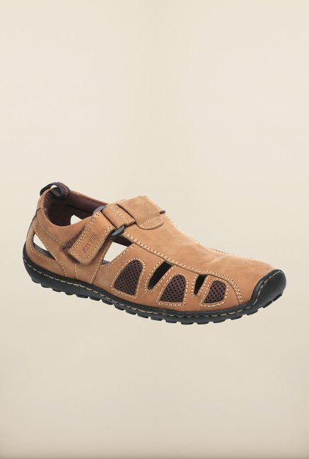 e91349960f61 Pavers England Brown Fisherman Sandals Online At Best