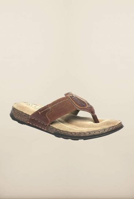 Pavers England Brown Slippers