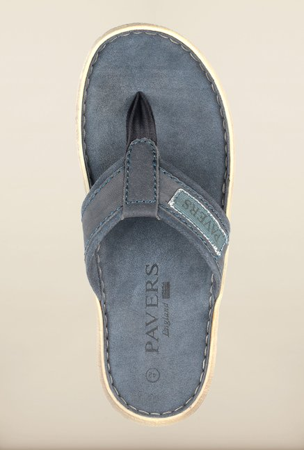 Pavers England Navy Slippers