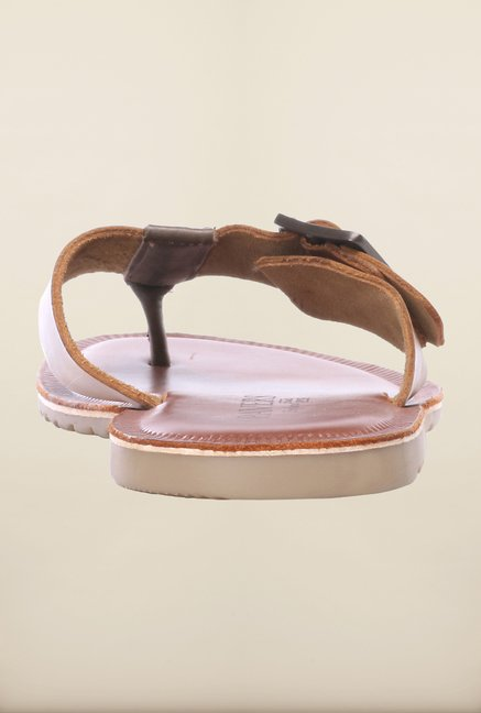 Pavers England Tan Slippers