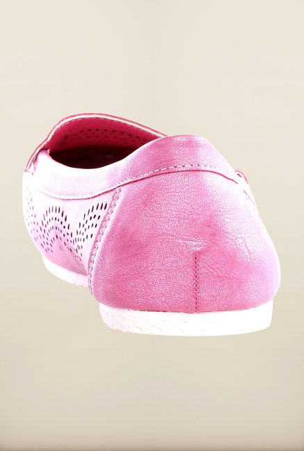 Pavers England Pink Loafers