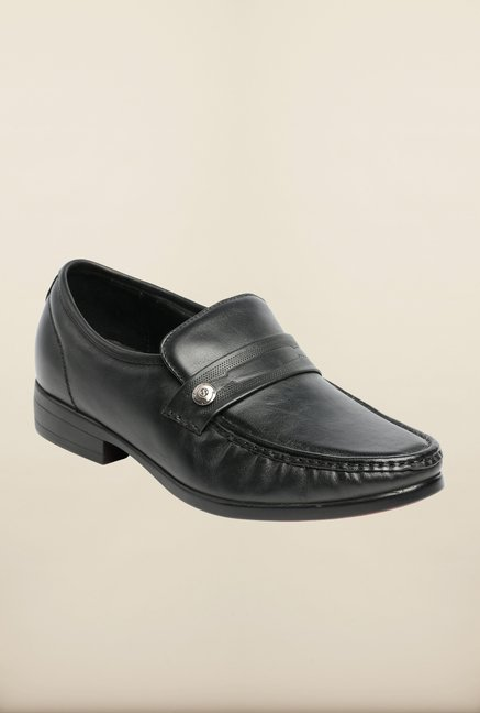 Pavers England Black Formal Shoes