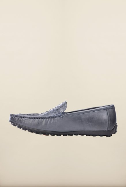 Pavers England Grey Loafers