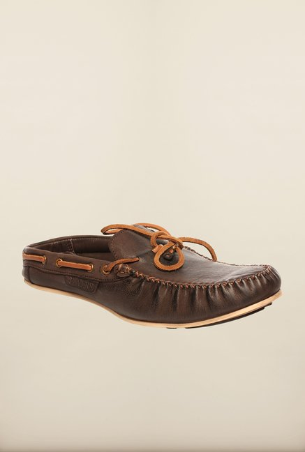 Pavers England Brown Mules