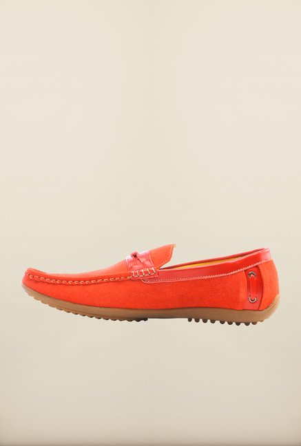 Pavers England Red Loafers
