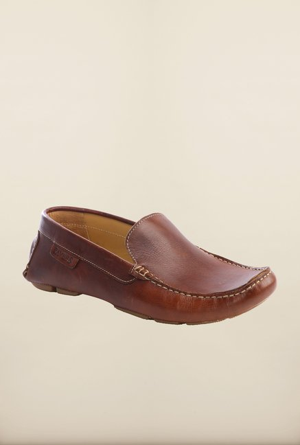 Pavers England Brown Loafers