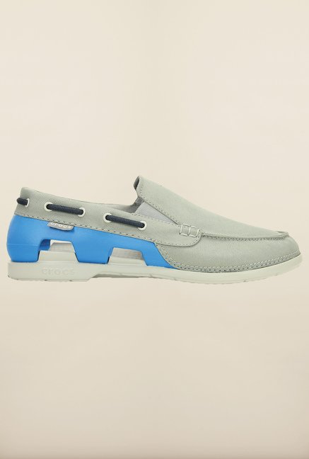 Crocs Beach Line Smoke & Ocean Loafers