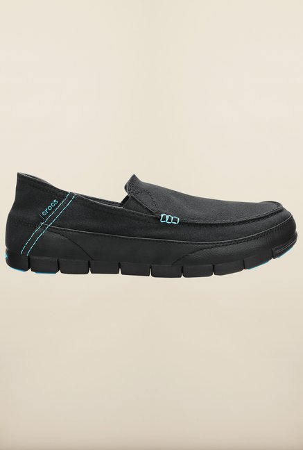 Crocs Stretch Sole Black Loafers