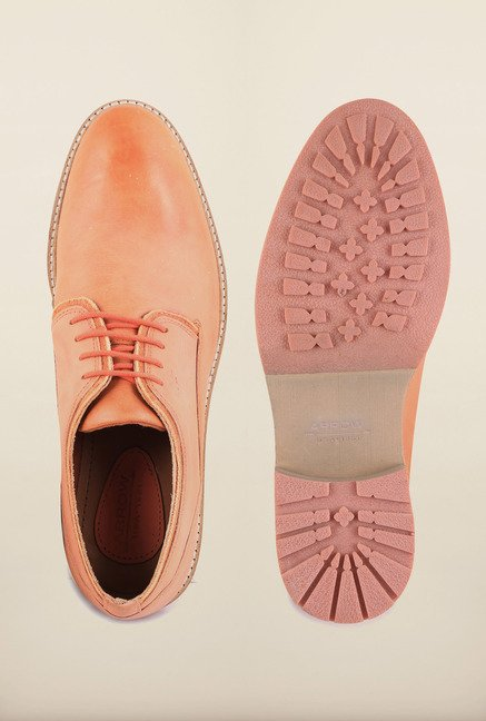 Arrow Paprika Leather Lace Up Shoes
