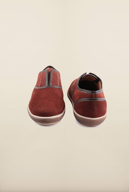 Arrow Cremisi Suede Leather Slip-Ons Shoes