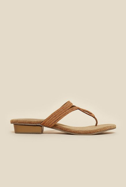 Metro Antic Gold Sandals