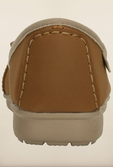 Crocs Wrap Color Lite Ballet Hazelnut and Tumbleweed Loafer