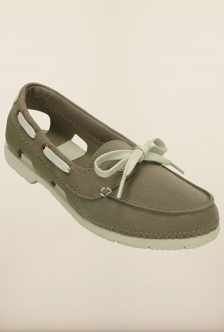 Crocs Beach Line Hybrid Khaki & Stucco Shoes