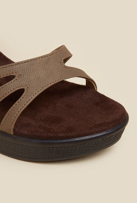 Metro Brown Wedge Heels