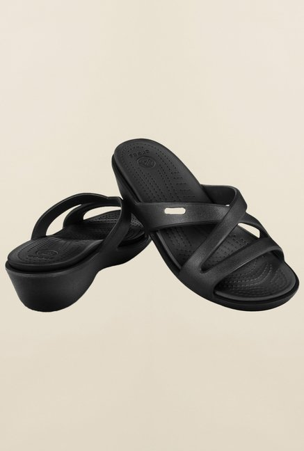 Crocs Patricia II Black Sandals