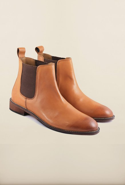 US Polo Assn. Tan Leather Boots