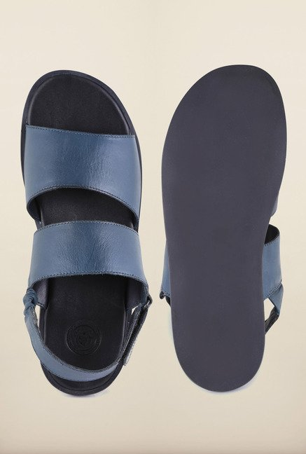 US Polo Assn. Dark Navy Leather Sandals