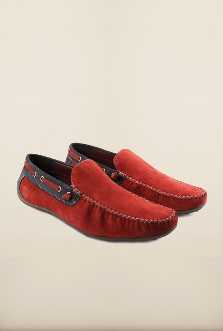 US Polo Assn. Rosso Leather Loafers