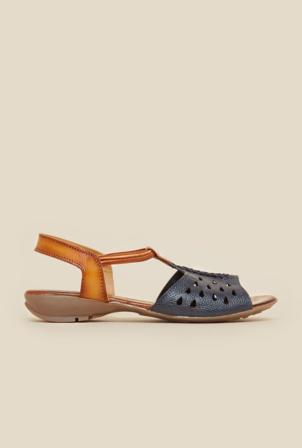 Metro Blue Cut Work Sandals