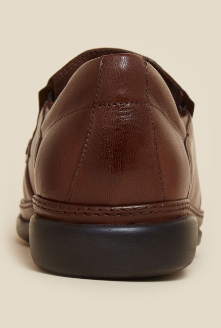 Da Vinchi by Metro Brown Formal Moccasin
