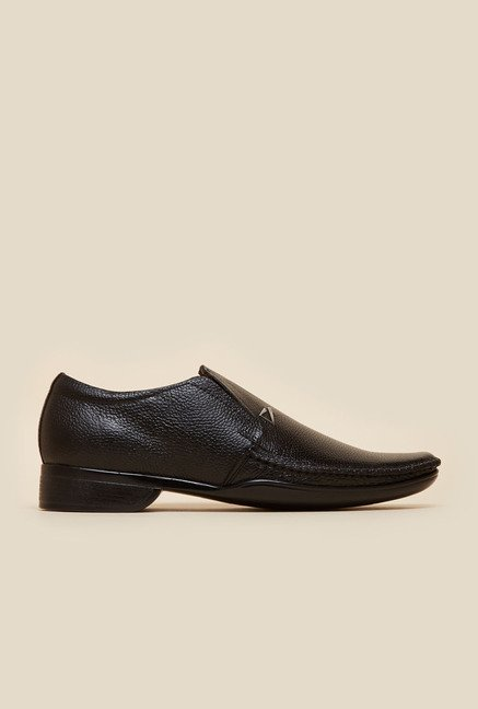 Metro Black Formal Moccasin