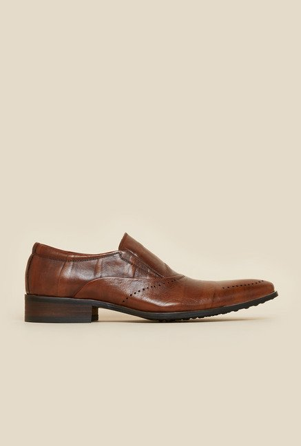 Da Vinchi by Metro Tan Slip-On Moccasin