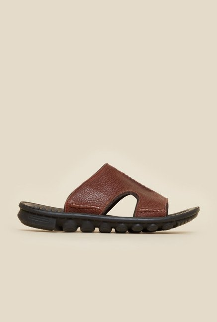 Da Vinchi by Metro Brown Leather Sandals