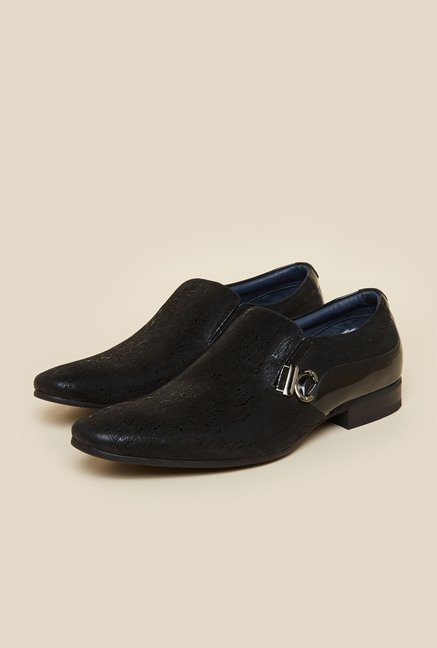Da Vinchi by Metro Black Formal Moccasin