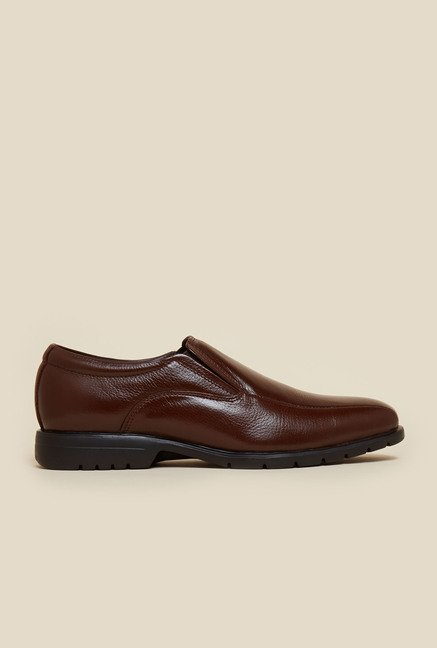 Da Vinchi by Metro Brown Slip-On Formal Moccasin