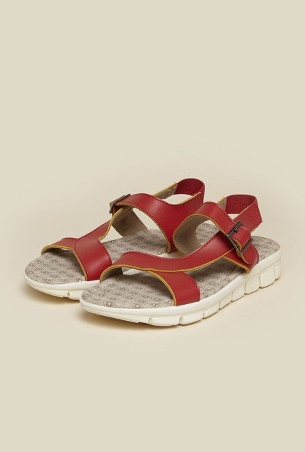 Metro Red Casual Sandals