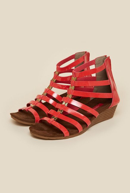 Metro Pink Back Zip Gladiators