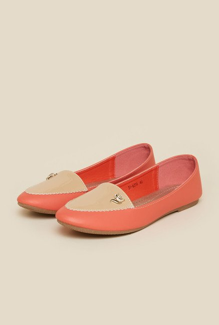 Metro Coral Ballerina Flat Shoes