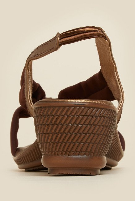 Metro Brown Casual Sandals