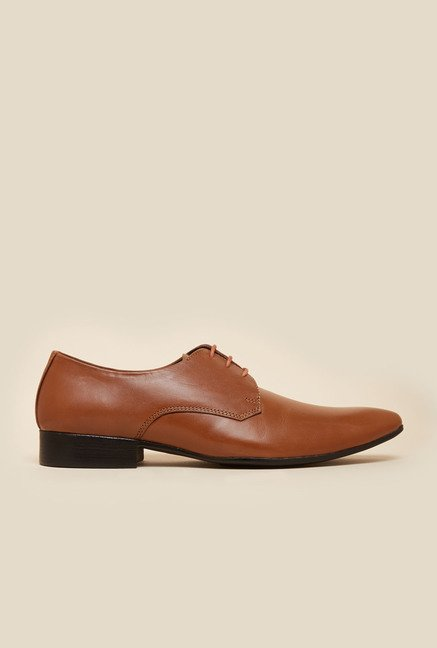 Metro Tan Leather Shoes