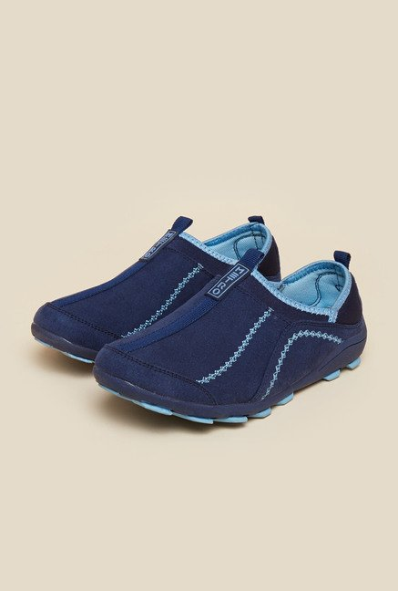 Metro Blue Slip-On Shoes